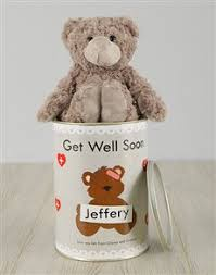 get well soon teddy order personalised teddy bears gifts online personalise your gift