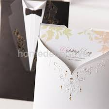 wedding invitations reviews online get cheap wedding invitations tuxedo aliexpress