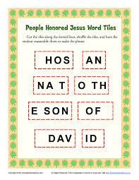 thanksgiving word scramble answers jesus triumphal entry into jerusalem word tiles bible activities