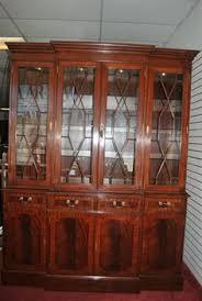 mahogany china cabinet furniture thomasville mahogany china cabinet and mahogany dining set 8 pieces