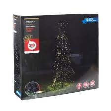 lytworx 310 led colour switch spiral tree light bunnings warehouse