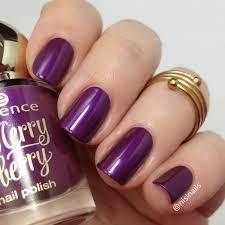 essence merry berry 03 pink u0026 perfect nail polish nails