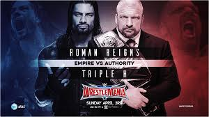 triple 9 2016 wallpapers empire vs authority reigns triple h poster by simonlindner on
