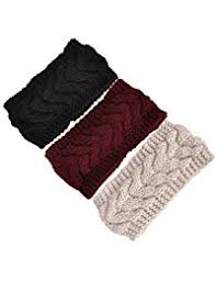 knitted headbands women s cold weather headbands