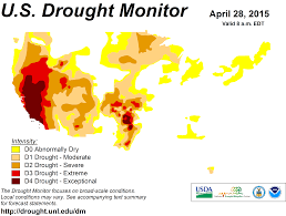 Drought Map Usa by Local And National Drought Information