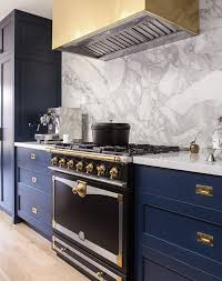 navy blue kitchen cabinet pulls 10 navy blue cabinets you ll fall in with purewow