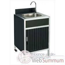 meuble de cuisine evier module de cuisine evier modulo cookingarden ki001b de cuisine exterieur