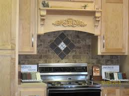 Plain Kitchen Backsplash Over Stove Tile Ideas Behind The Cooktop - Backsplash behind stove