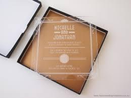 clear acrylic wedding invitations clear acrylic acrylics and