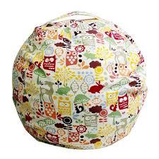 Bean Bag Sofa Pattern Au Kids Stuffed Animal Toys Cotton Bean Bag Sofa Storage Pouch
