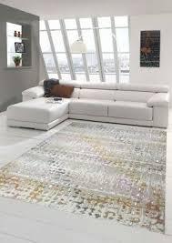 tappeto design moderno tappeto moderno da salotto e design moderno in turchese giallo