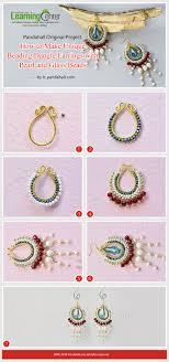 make dangle earrings 2498 best beaded earrings images on beading tutorials