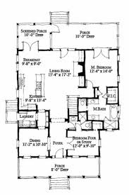 Cottage Style House Plans With Porches Cottage Style House Plan 4 Beds 3 Baths 1970 Sq Ft Plan 464 13