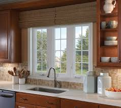 windows elegant kitchen design with feldco windows and oak wood