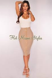 up skirt ribbed lace up skirt