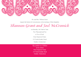 Wedding Announcement Template Indian Wedding Invitations Template Best Template Collection