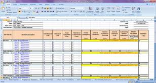 Excel Templates For Construction Estimating by Construction Estimate Spreadsheet Template Excel Xls Template