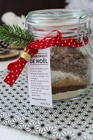 cadeau noel cuisine recette de noël cadeau gourmand brownie en bocal diy stella