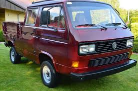 volkswagen type 4 ebay find of the week 1990 vw doka syncro camper