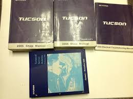 2005 hyundai tucson repair manual 2005 hyundai tucson service repair shop workshop manual set w ewd