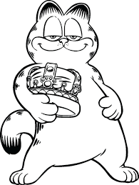 articles with garfield coloring pages tag garfield