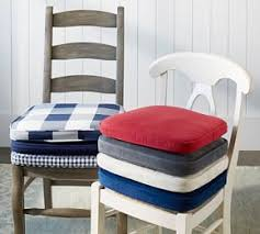 Dining Chair Cushions Pb Classic Sunbrella皰 Dining Chair Cushion Pottery Barn