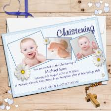 personalised christening invitations personalised baptism cards