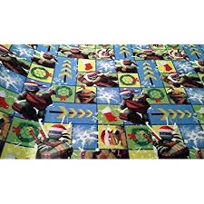 tmnt wrapping paper christmas wrapping mutant turtle santa hat
