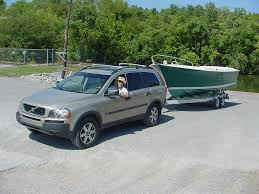xc90 as a tow vehicle