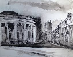 urban sketches janine pinion