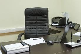 bureau du directeur bureau de directeur général image stock image du corporate
