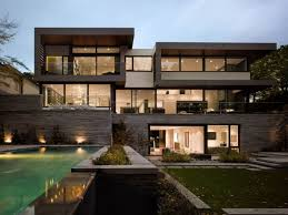 modern style house north toronto residence gets awarded for symmetry and innovation