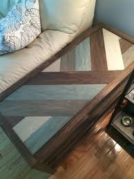 Build Your Own End Table Plans by Best 25 Wood End Tables Ideas On Pinterest Diy Furniture Plans