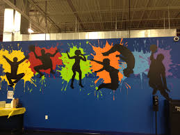 top 25 best school murals ideas on pinterest community art mural for the gym at school do on a removable board variation of