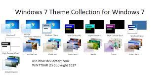 windows 7 desktop themes united kingdom win7tbar deviantart
