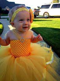 Halloween Costumes Belle Beauty Beast Beauty Beast Belle Baby Girls Tutu Dress Birthday Party
