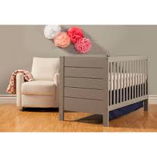 Gray Convertible Cribs by Baby Mod Modena 3 In 1 Convertible Crib Gray Walmart Com