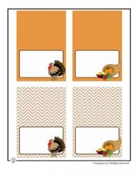 printable placecards printable thanksgiving placecards decorations woo jr kids