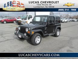 jeep rubicon 2000 used 2000 jeep wrangler sport in lumberton nj vin 1j4fa49s5yp706249