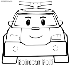 robocar poli coloring pages coloring pages to download and print