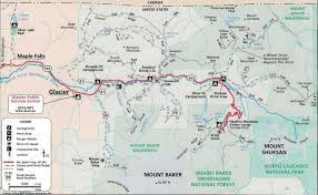 Highway Map Of Montana by Mt Baker Trails Hiking Climbing And Camping Reports