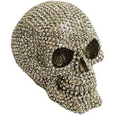 gem skull ornament co uk kitchen home