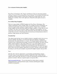 Professional Business Cover Letter Free Business Plan Templates For Word Plan Template Business Cover