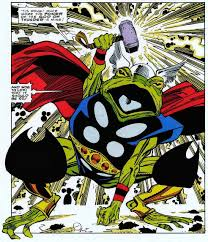 comic book art remember that time thor was a frog the nexus of