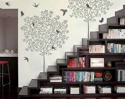 diy home decor wall songbirds wall stencils 10 reusable easy diy home decor wall