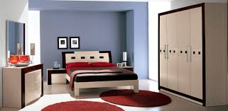 Red And White Modern Bedroom Bedroom Alluring Modern Bedroom Furniture For Space Small Design
