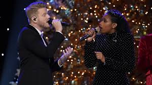 pentatonix christmas album look hudson and other guests stop by to celebrate a