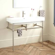 bathroom sink sink console gold brass stand metal stands for