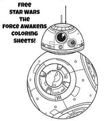 the force awakens 21 star wars printable coloring pages the