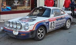 rothmans porsche 911 ex monte carlo historic midnight sun rally 1978 porsche 911 sc
